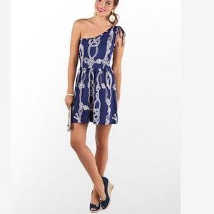 Lilly Pulitzer Silk Blend Double Knot Teeki Dress